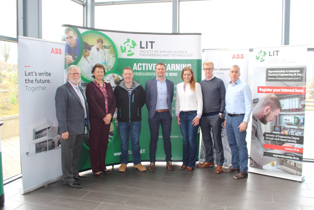 ABB Award Bursaries to Limerick I.T Industrial Electrical Engineering Apprentices